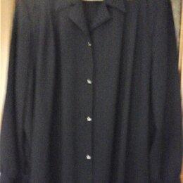 Блузки и кофточки - Блуза черная, вискоза, кружево, 0