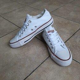 Кроссовки и кеды - Кеды женские Converse All Star белые А1017, 0