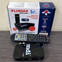 DVD и Blu-ray плееры - Цифровой эфирный приемник DVB-T2 MDI DBR-501, 0