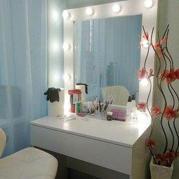 Аксессуары - Гримерное зеркало со светодиодной подсветкой, 0