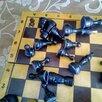 Шахматы деревянные доски 30х30 ссср.С олимпийским мишкой по цене 1000₽ - Настольные игры, фото 5
