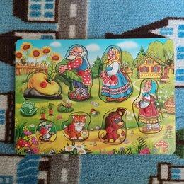 Пазлы - Деревянные пазлы с мультгероями и героями сказок, 0