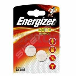 Батарейки - Элемент питания Energizer Miniatures Lithium СR2016 FSB2, 0