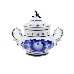 Заварочные чайники - Чайники, сахарницы Гжельский фарфоровый завод Сахарница Голубка, 0