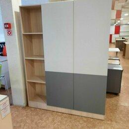 Мебель для учреждений - Секция шкафов для одежды и документов, двухсторонний., 0