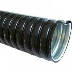 Товары для электромонтажа - Металлорукав в пвх изоляции мрпи нг 20 (50 м/уп) черный, 0