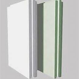 Стеновые панели - Пазогребневая плита  влагостойкая полнотелая 667х500х80 мм, 0