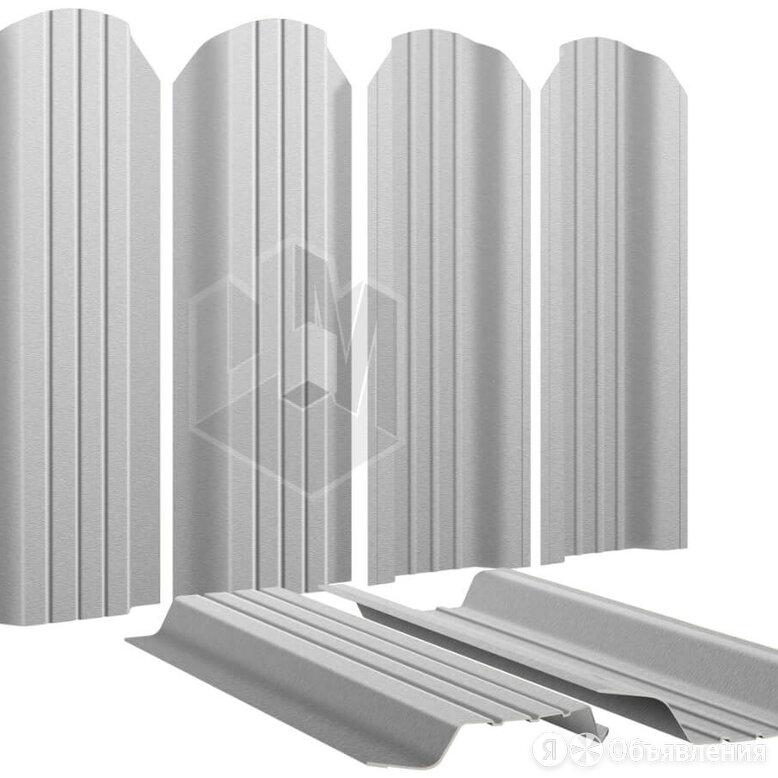 Штакетник для забора Широкий 115мм Оцинкованный высота 1.25 метра по цене 125₽ - Заборы, ворота и элементы, фото 0