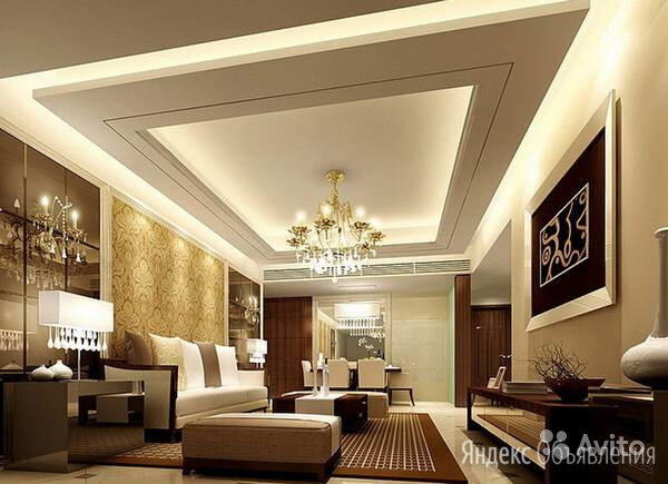 Натяжной потолок по цене 160₽ - Потолки и комплектующие, фото 0