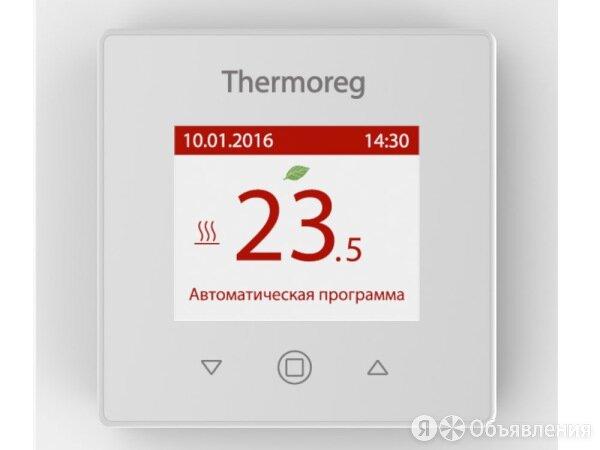 Терморегулятор Thermoreg TI-970 White с датчиком пола и воздуха по цене 7600₽ - Электрический теплый пол и терморегуляторы, фото 0