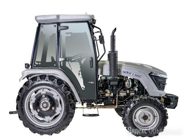 Трактор скаут t-504 с с кабиной по цене 1200000₽ - Мини-тракторы, фото 0