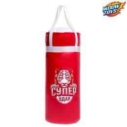 Тренировочные снаряды - Набор для бокса детский «Супер удар», груша 60 см, перчатки, МИКС, 0