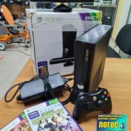 Игровые приставки - Игровая приставка Xbox 360 4 Gb + Kinect + Игры, 0