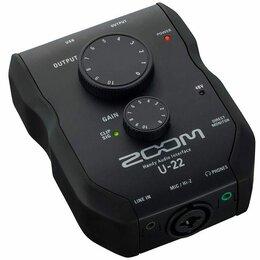 Оборудование для звукозаписывающих студий - Zoom U-22 ручной аудиоинтерфейс, 0