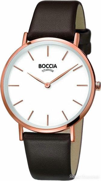 Наручные часы Boccia Titanium 3273-06 по цене 7980₽ - Наручные часы, фото 0