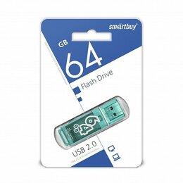 USB Flash drive - FLASH DRIVE SMARTBUY 64GB USB 2.0 GLOSSY GREEN, 0