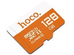 Карты памяти - Карта памяти TF HOCO TF high speed 128GB, 0