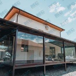 Окна - Безрамное остекление веранд, балконов, террас, беседок, домов, лоджий, 0