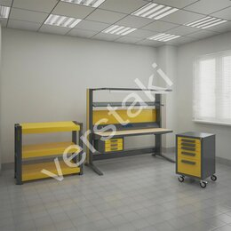 Мебель для учреждений - Металлическая мебель для электромонтажников, 0