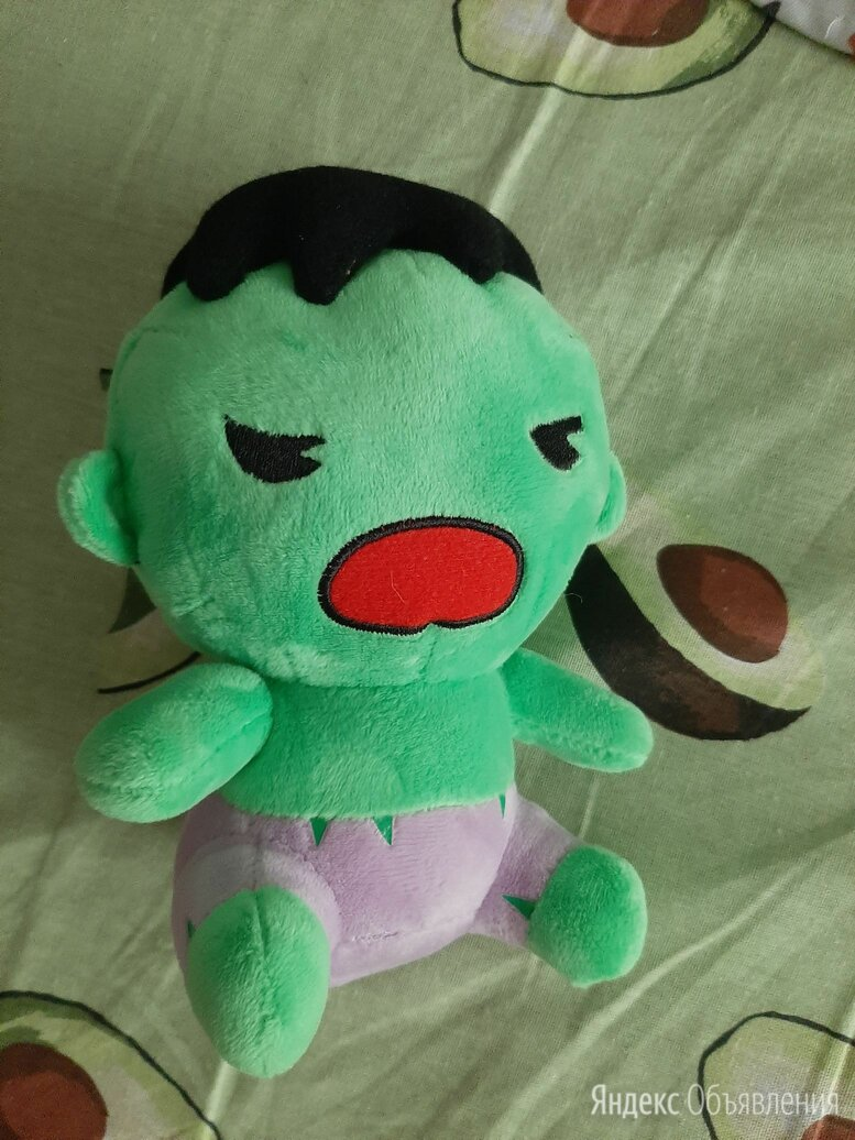 Мягкая игрушка Халк супергерой по цене 70₽ - Мягкие игрушки, фото 0