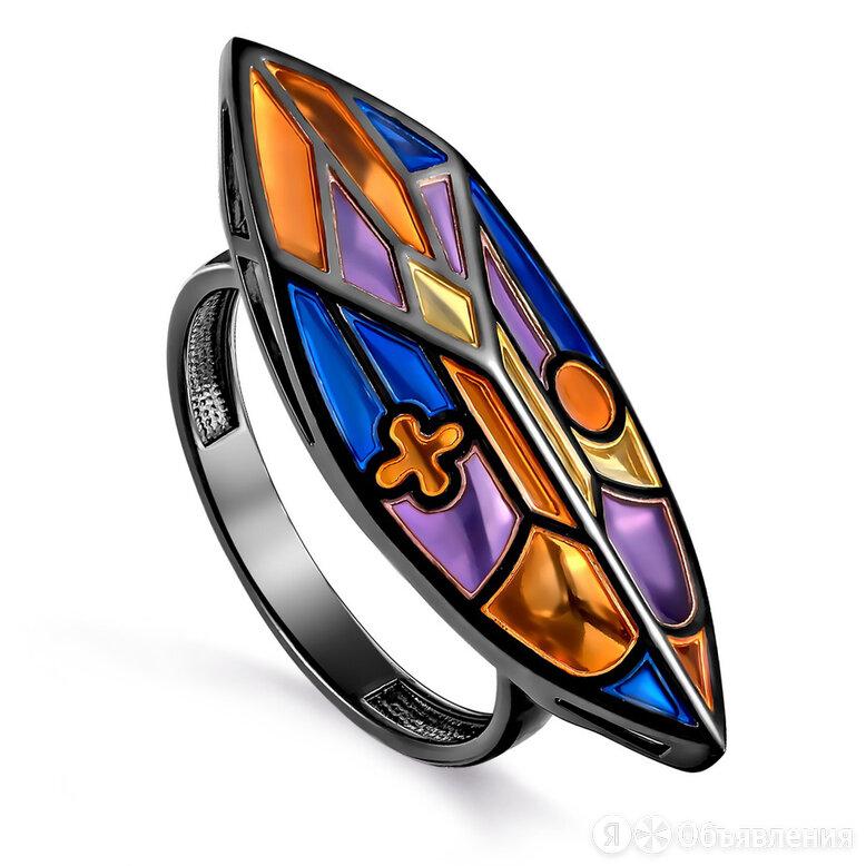 Серебряное кольцо с эмалью по цене 1600₽ - Кольца и перстни, фото 0