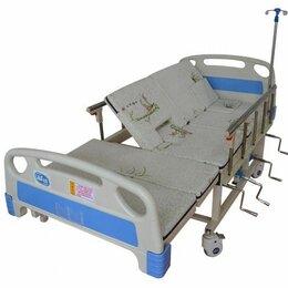 Устройства, приборы и аксессуары для здоровья - Медицинская кровать для лежачих больных на бок Мех, 0