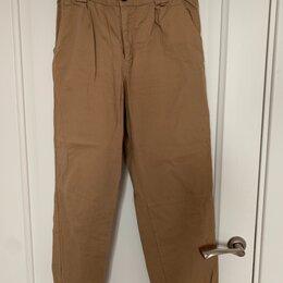 Брюки - Светло-коричневые штаны, 0