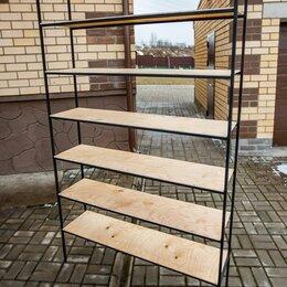 Стеллажи и этажерки - Лёгкий стеллаж в стиле лофт, 0