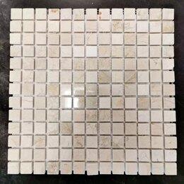 Мозаика - Мозаика из Victoria Crema Marfil polished, 2.2x2.2-30.5х30.5х1 (Eima), 0