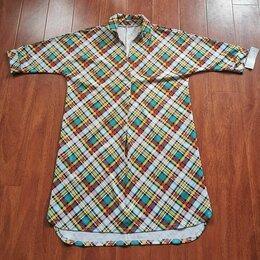 Платья - Новое платье-рубашка 56 размер, 0
