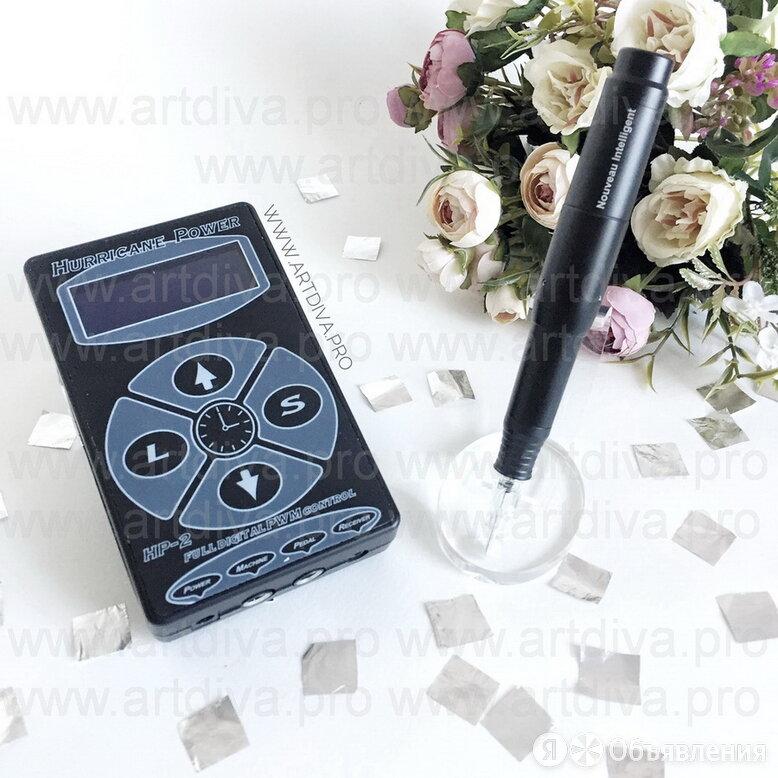 Аппарат для татуажа Intelligent Hurricane Black модульный по цене 27000₽ - Принадлежности и оборудование для татуажа, фото 0