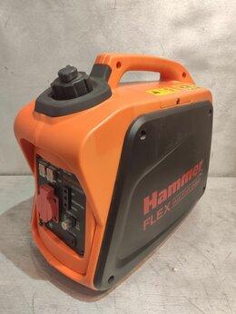 Электрогенераторы - Бензиновый генератор HAMMER GN1200i, 0