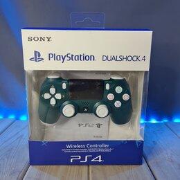Аксессуары - Геймпад (джойстик) для PS4 DualShock 4 v2 беспроводной (Dark green), 0