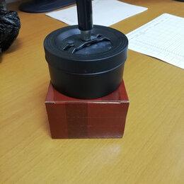 Пепельницы и зажигалки - Пепельница вращающаяся хром черная матовая 140 мм 22388, 0