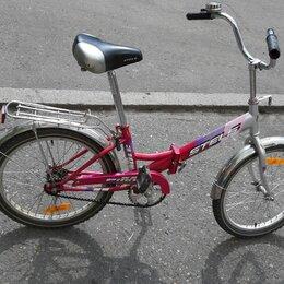 Велосипеды - Велосипед стелс пилот -310 б/у, 0