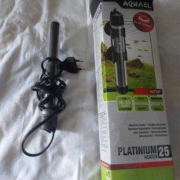 Оборудование для аквариумов и террариумов - Цилиндрический нагреватель aquael aqn platinium heater 75w, 0