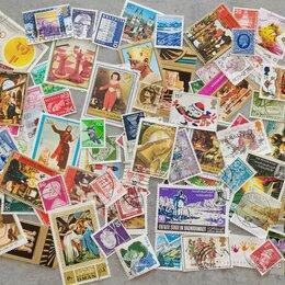 Марки - 106 иностранных марок (без повторов), 0
