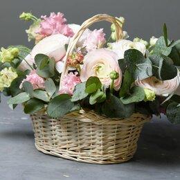 Цветы, букеты, композиции - Композиция «Чистая лазурь» - М (30см), 0