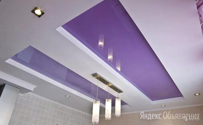 Натяжные потолки по цене 220₽ - Потолки и комплектующие, фото 0