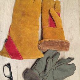 Одежда и аксессуары - Краги спилковые утепленные сибирь, 0