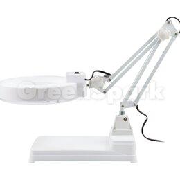 Лупы - Лампа с лупой и подсветкой (10X) на подставке, 0