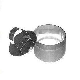 Кондитерские аксессуары - Кулинарная форма Круг - 7х5 см с прессом, 0