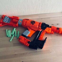 Игрушечное оружие и бластеры - Игрушка nerf зомби страйк Ногтегрыз e6163eu4, 0