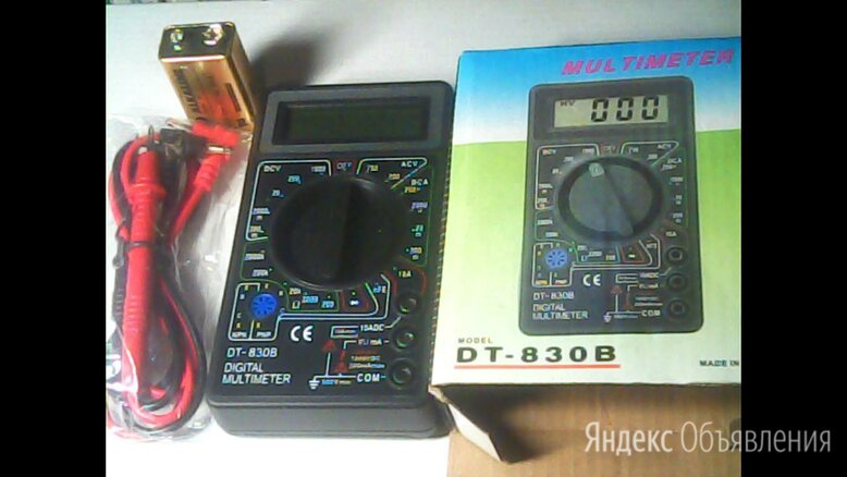 Измерительные приборы,тестеры,клещи по цене 300₽ - Измерительные инструменты и приборы, фото 0