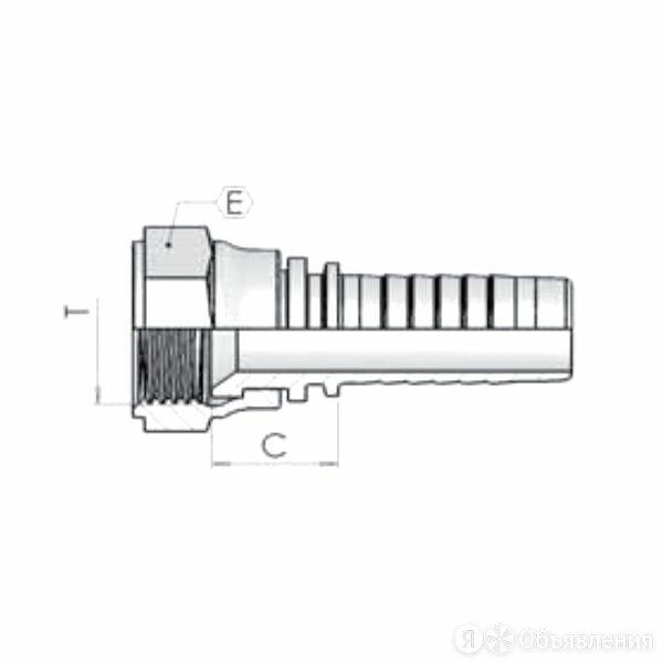 Фитинг DN 25 JIС (0) 1.5/8 по цене 510₽ - Водопроводные трубы и фитинги, фото 0