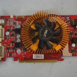 Видеокарты - Видеокарта Palit GeForce 9600 GT 650Mhz PCI-E 2.0 512Mb 1800Mhz 256 bit 2xDVI TV, 0