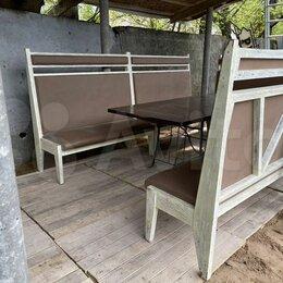 Комплекты садовой мебели - Стол и лавки для беседки, 0