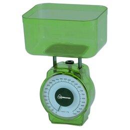 Кухонные весы - Весы кухон. HomeStar HS-3004M (зеленые) до 1кг, деление 20гр, объем чаши 400м..., 0