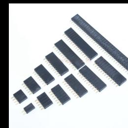 Расходные материалы - Гнездо на плату PBS 2,54 мм, прямое, 0