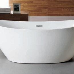 Ванны - Ванна акриловая отдельностоящая Azario Glasgow 166x78x66, 0